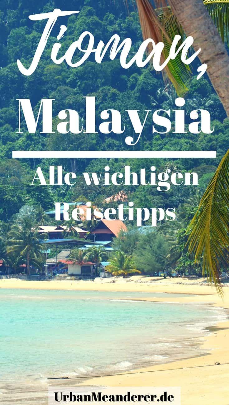 Hier findest du alle wichtigen Reise Tipps zu Pulau Tioman, Malaysia. Mit diesen Infos holst du das meiste aus deiner Zeit auf einer der schönsten Inseln Malaysias heraus.