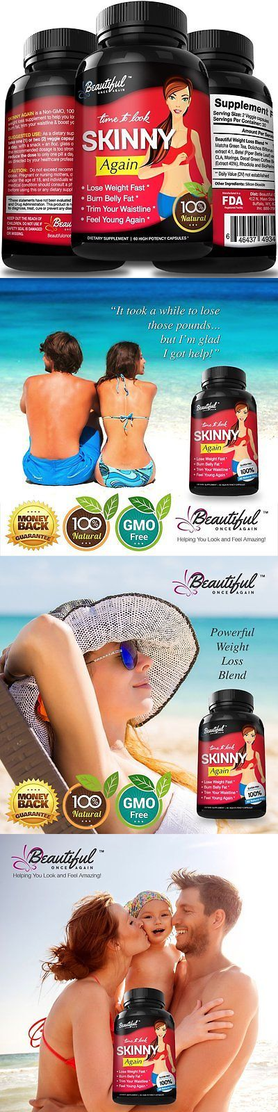 Appetite Control Suppressants: Diet Pills Skinny Again, Lose Belly Fat Fast 100% Natural, Non-Gmo, Gluten Free BUY IT NOW ONLY: $53.95
