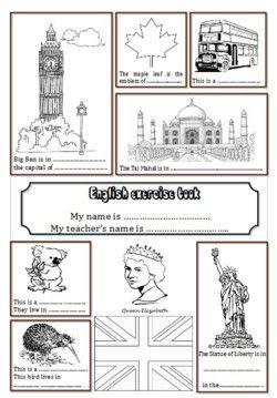 Pages de garde du cahier dAnglais - Lécole de petite Prune