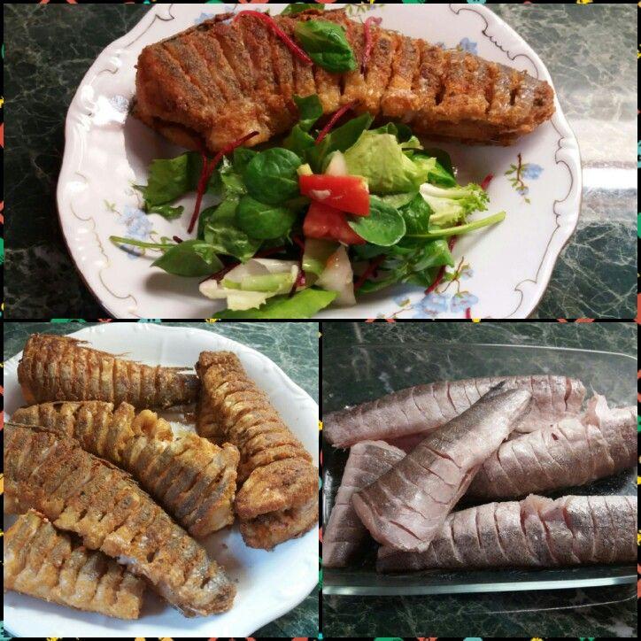 Hekktörzs salátával ... #szafifitt paleo sütőliszttel
