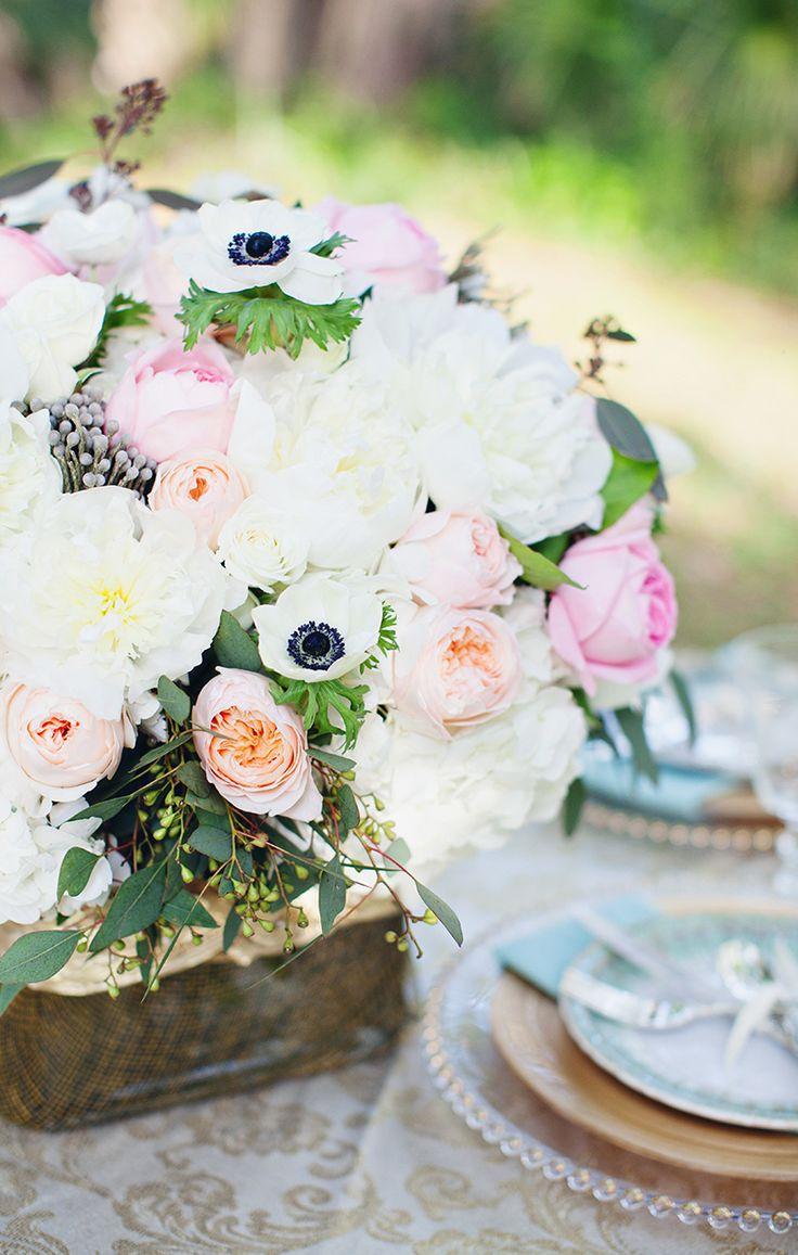 The 354 best Floral Centerpieces images on Pinterest | Wedding decor ...