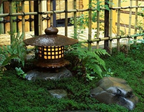 Japanese Garden Lamp