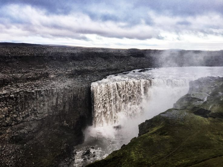 Detifoss in Iceland is Europe's most powerful waterfall and was used in the opening scene for the film Prometheus. [4032x3024]