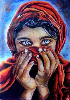 Zeenat Nahar's Works: Agony in The Eyes...