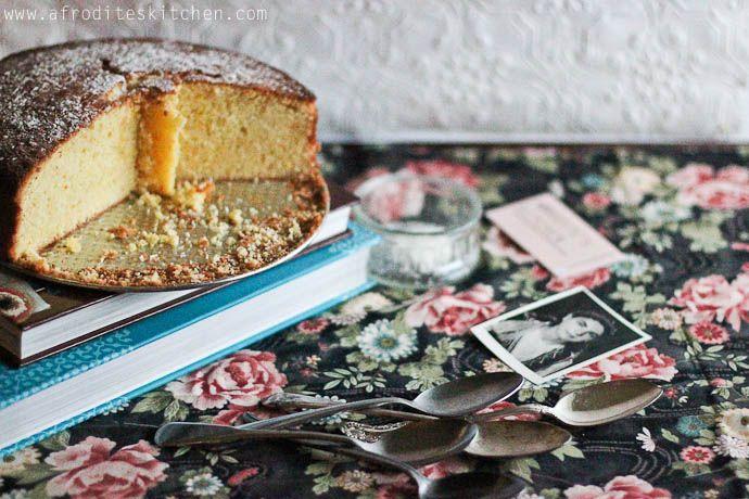 Orange-Brandy Cake (vasilopita recipe) afrodite's kitchen