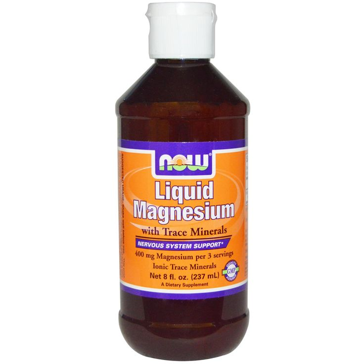Now Foods, Liquid Magnesium with Trace Minerals, 8 fl oz (237 ml) - iHerb.com