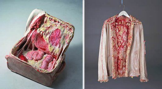 Meat Suitcase & Meat Jacket..