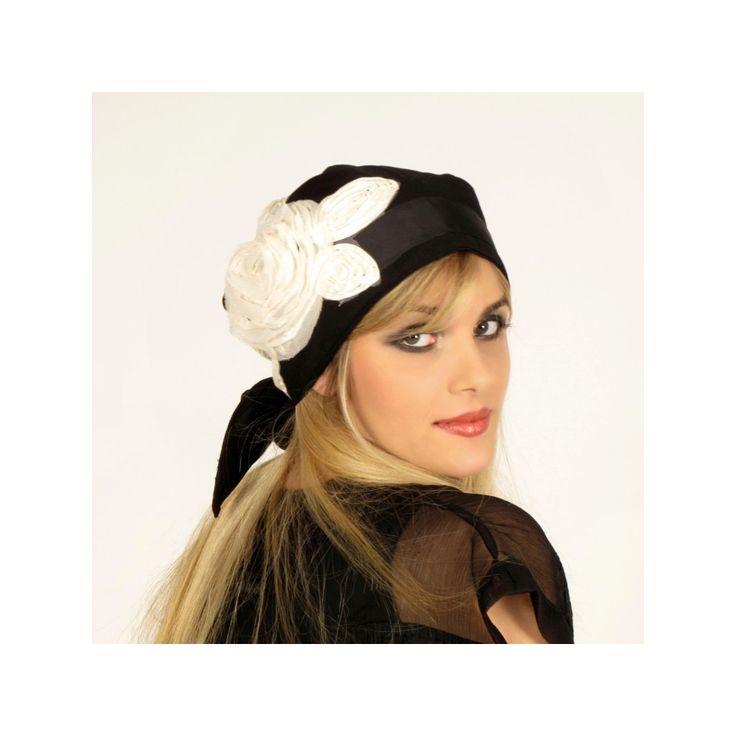 foulard de t te femme mod le ingrid 35 foulard de la marque johar foulard se nouant gr ce. Black Bedroom Furniture Sets. Home Design Ideas