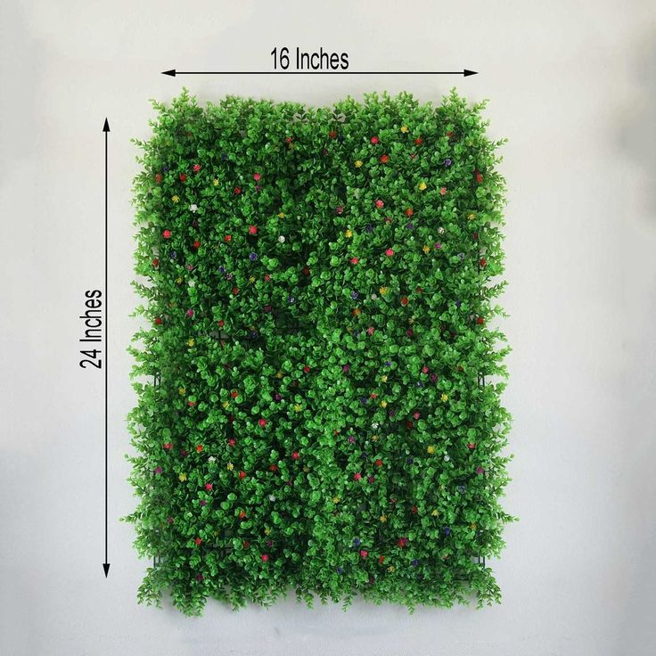11 sq ft 4 panels artificial boxwood hedge faux on interior using artificial boxwood panels with flowers id=39896