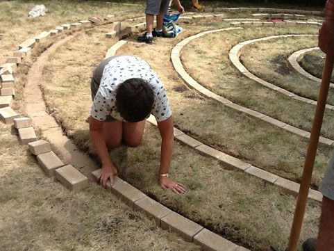 building a Labyrinth!!