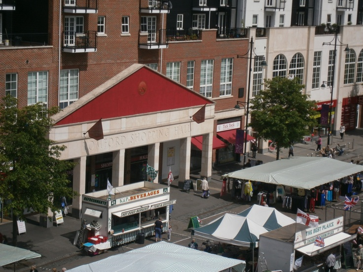 The fabulous Shopping Hall on Romford Market