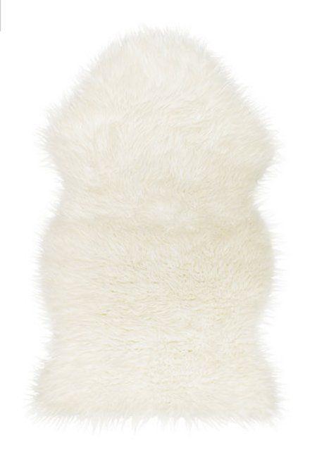 IKEA Faux White Sheepskin Rug New Super Warm Soft & Cozy in Leather, Fur & Sheepskin Rugs | eBay