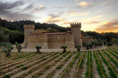 Castle Winery in Napa.   Castello di Amarosa.