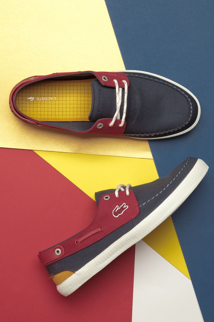 What do you mean your deck shoes aren't navy, red and yellow?