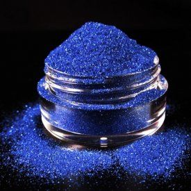 Royalty is a vivid, royal blue cosmetic glitter