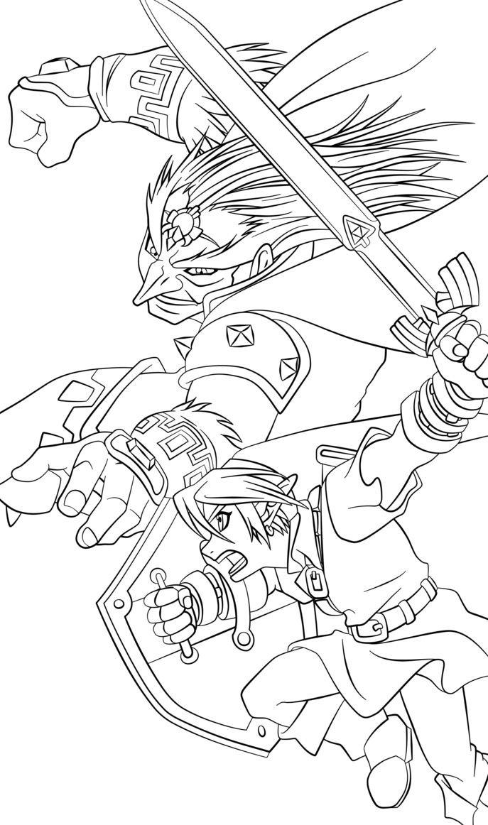 minish cap coloring pages - photo#42