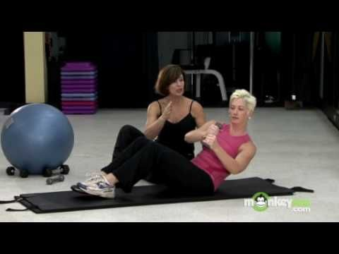 Fit Over 50 - Oblique Exercises, via YouTube.