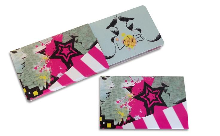 Love Sugar Free Chewing Gum Pack  Design by Sachlova.  www.sachlova.com