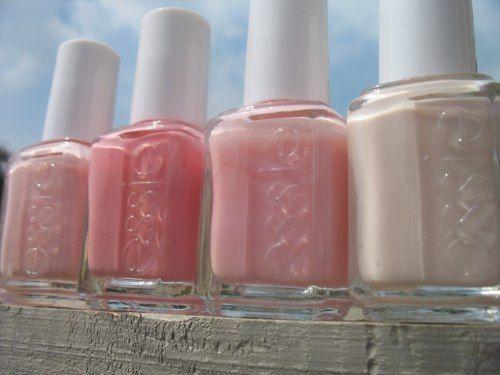 essie: Wedding Nails, Nails Colors, Soft Pink, Pink Nails, Pink Colors, Nailpolish, Hair Nails Makeup, Pale Pink, Nails Polish