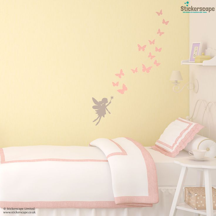 A Perfect Addition To Any Pretty Room, This Fairy And Butterflies Wall  Sticker Set Would Look So Gorgeous In A Nursery Or Girlu0027s Bedroom. Part 98