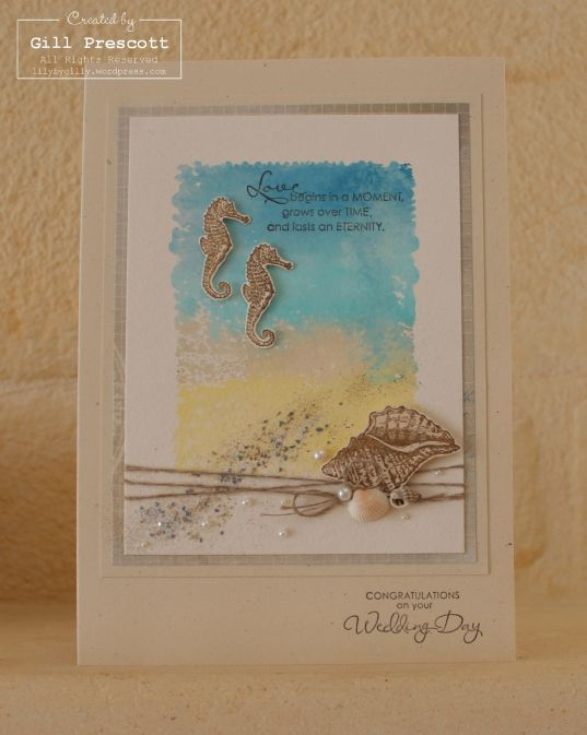 Laurie and Seans wedding card