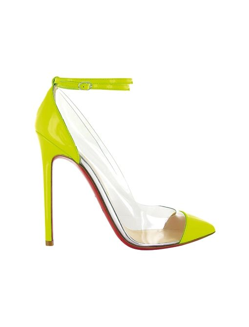 <3: Hot Shoes, Instant Outfits, Illusions Pumps, Neon Christian, Gorgeous Louboutin, High Heels, Neon Pumps, Christian Louboutin, Louboutin Unbout