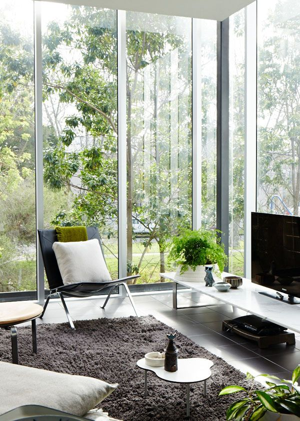 The Melbourne Home of Paul Hecker via the Design Files.Modern Interiors Design, Modern House Design, Modern Home Design, Luxury House, Design Interiors, Home Interiors Design, Living Room, Design File, Design Home