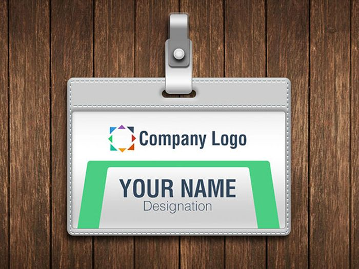 Id Card Vector Mockup Free Psd File Mock Up Pinterest Mock Up