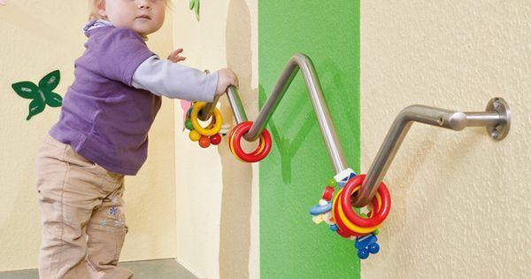 Great idea for an infant toddler climbing bar! | Actividades Toddler | Pinterest | Climbing, Infants and Toddlers