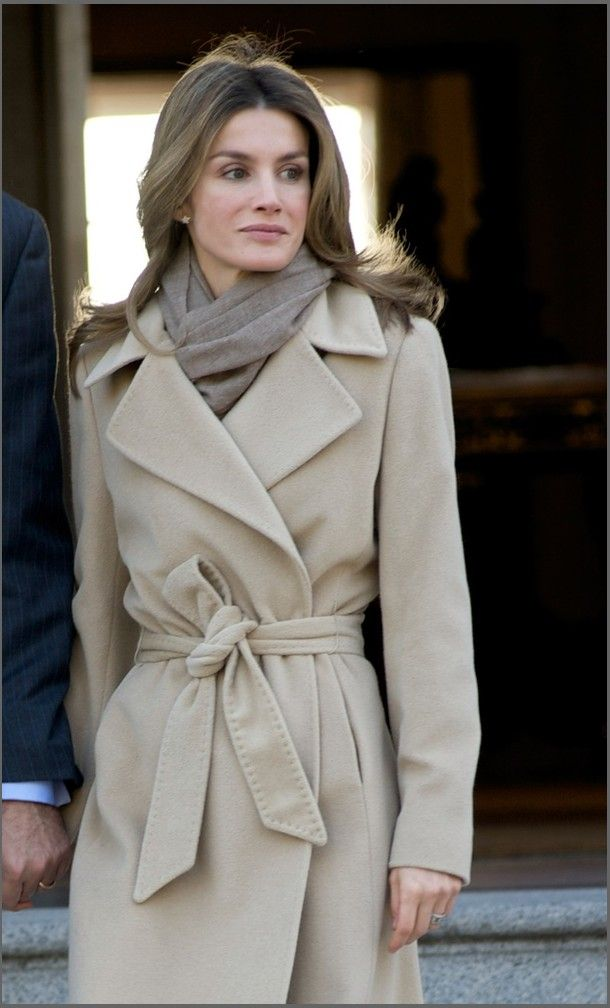 Princess Letizia of Spain is spot on with her winter style.