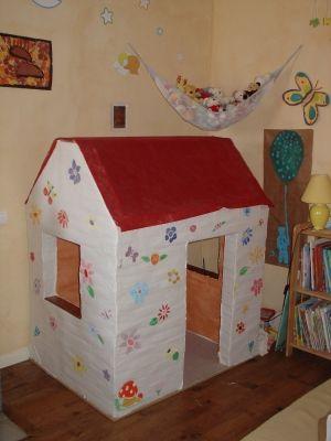 maison de poupée en briqus de lait