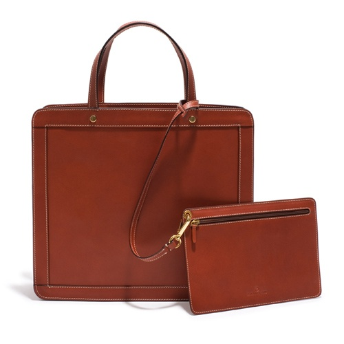 Handväska åhlens : ?ppen handv?ska i skinn palmgrens bags
