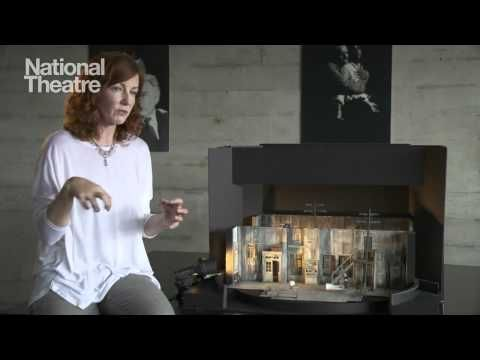 Theatre Set Design ++ Set designer Bunny Christie and director Howard Davies talk about the set design for 'The Cherry Orchard' and how they drew their inspiration from the historic Dockyards at Chatham.