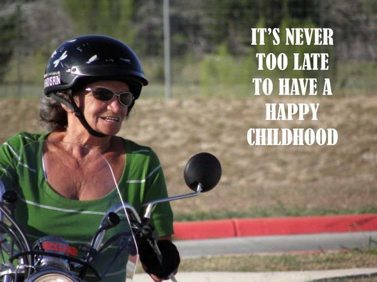 Fuel for Thought - It's never too late to have a happy childhood