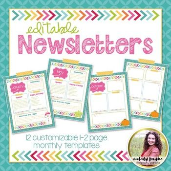38475a652164d11bdf4836a33b5fc75c--school-pictures-vint  Monthly Newsletter Templates on human resource, preschool printables, for work, free editable one page, girl scout, samples business,