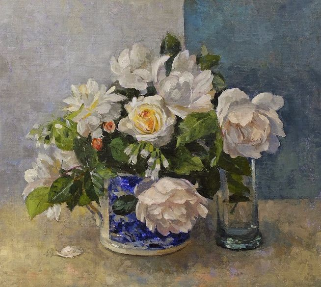 White Roses (654x585, 455Kb)