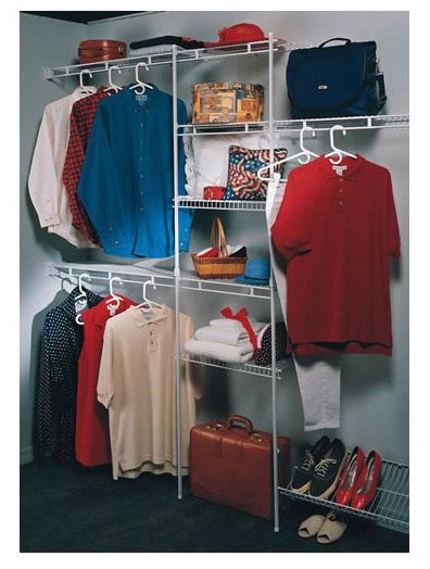 ClosetMaid 160831 5u0027 To 8u0027 Closet Organizer