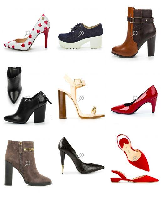 Обувь Яркого Гамина несколько массивная, угловатой или неправильной формы. Туфли с низким сужающимся каблуком Высокие прямые шпильки. Ярко окрашенные модели. Обувь с забавными узорами. ! Избегайте: простых, классических лодочек, слишком женственной обуви с тонкими ремешками и изысканной отделкой.