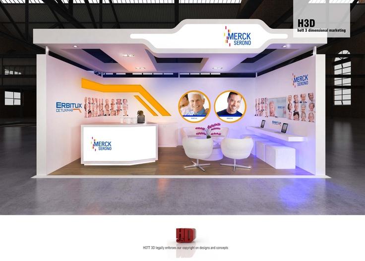 D Exhibition Stall Design Full : Merck serono full custom m booth hott d c a