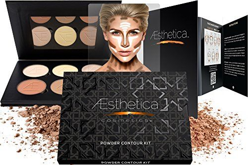 Aesthetica Cosmetics Contour and Highlighting Powder Foundation Palette / Contouring Makeup Kit; Easy-to-Follow, Step-by-Step Instructions Included Aesthetica Products http://www.amazon.com/dp/B00L4FNIA4/ref=cm_sw_r_pi_dp_lXEVwb06W20S4