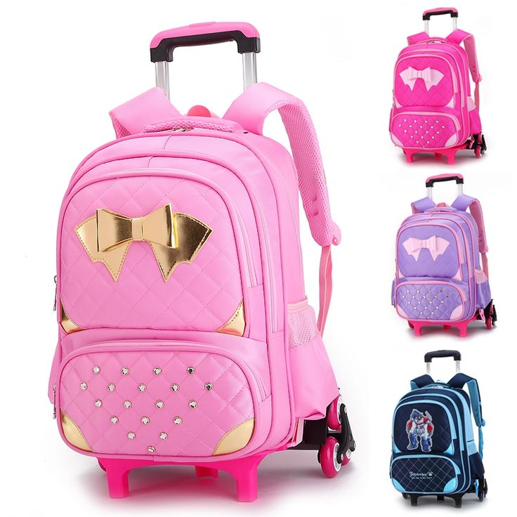 59.68$  Watch here - http://ali99y.worldwells.pw/go.php?t=32609029998 - Women Backpack Trolley Luggage Travel Bag Male and Female Travel Backpack with Wheels School Bags Boys Bagpack Bolsos