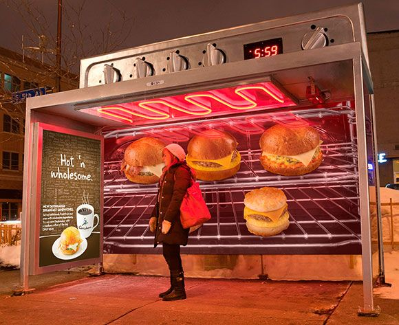 50+ Amazing and Creative Outdoor Advertisements  >> http://www.onextrapixel.com/2012/11/08/50-amazing-and-creative-outdoor-advertisements/