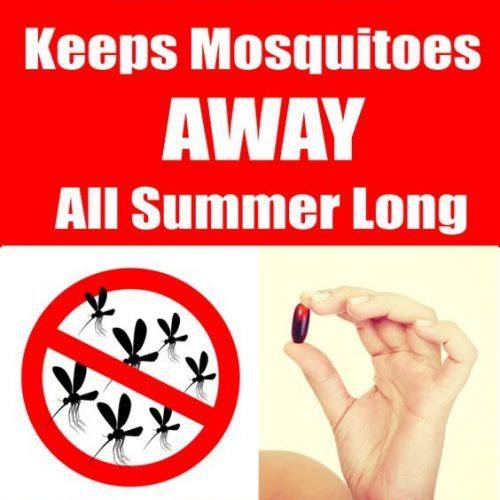This Vitamin Keeps Mosquitoes Away All Summer Long!!!