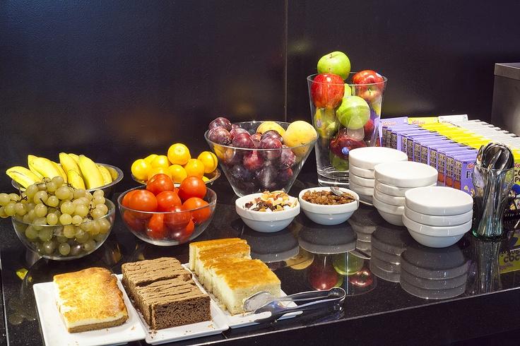 Prueba el #desayuno, hay mucha variedad. #breakfast
