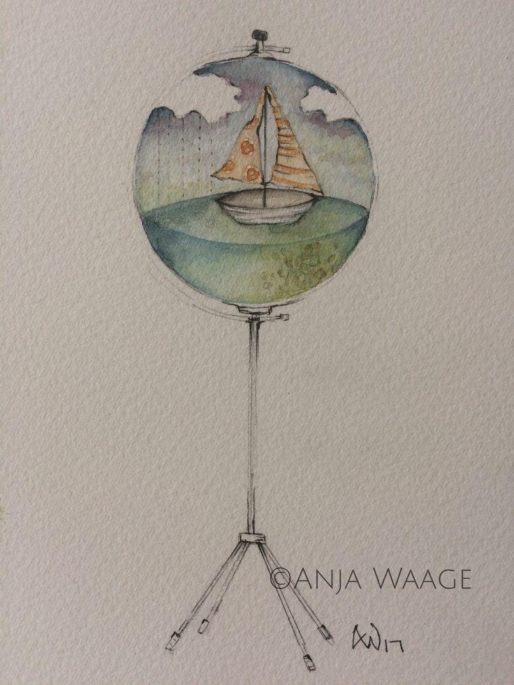 Watercolor Anja Waage