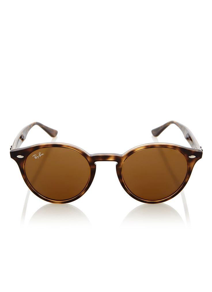 Retro ronde zonnebril van Ray-Ban. Model: RB2180. €130,-