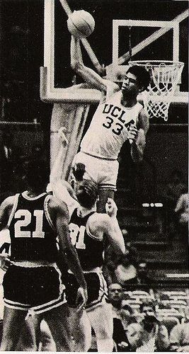 Kareem Abdul Jabbar when he was Lew Alcindor.. wrote to him & got his autograph too..