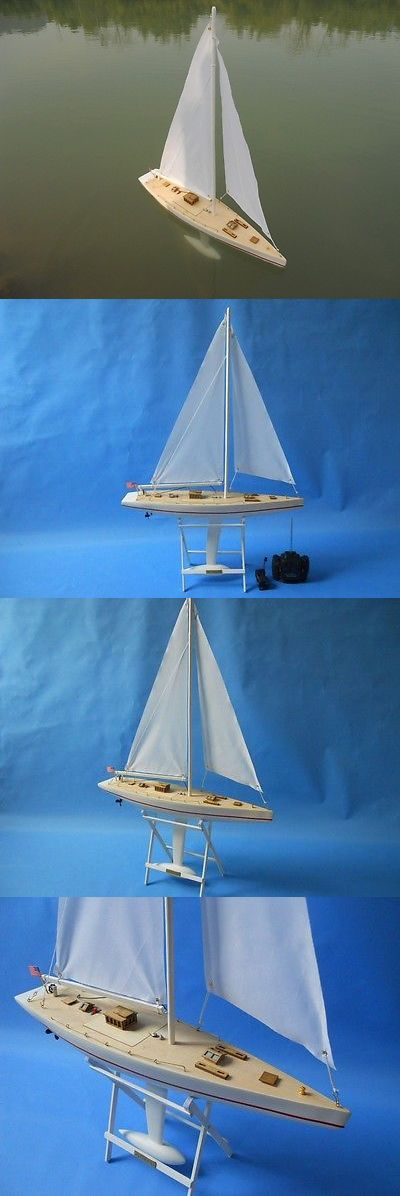 Boats and Watercraft 87480: 30 Rc Intrepid Sailboat Ltd. Edition Model 67 70 America S Cup Winner Ready -> BUY IT NOW ONLY: $139.99 on eBay!