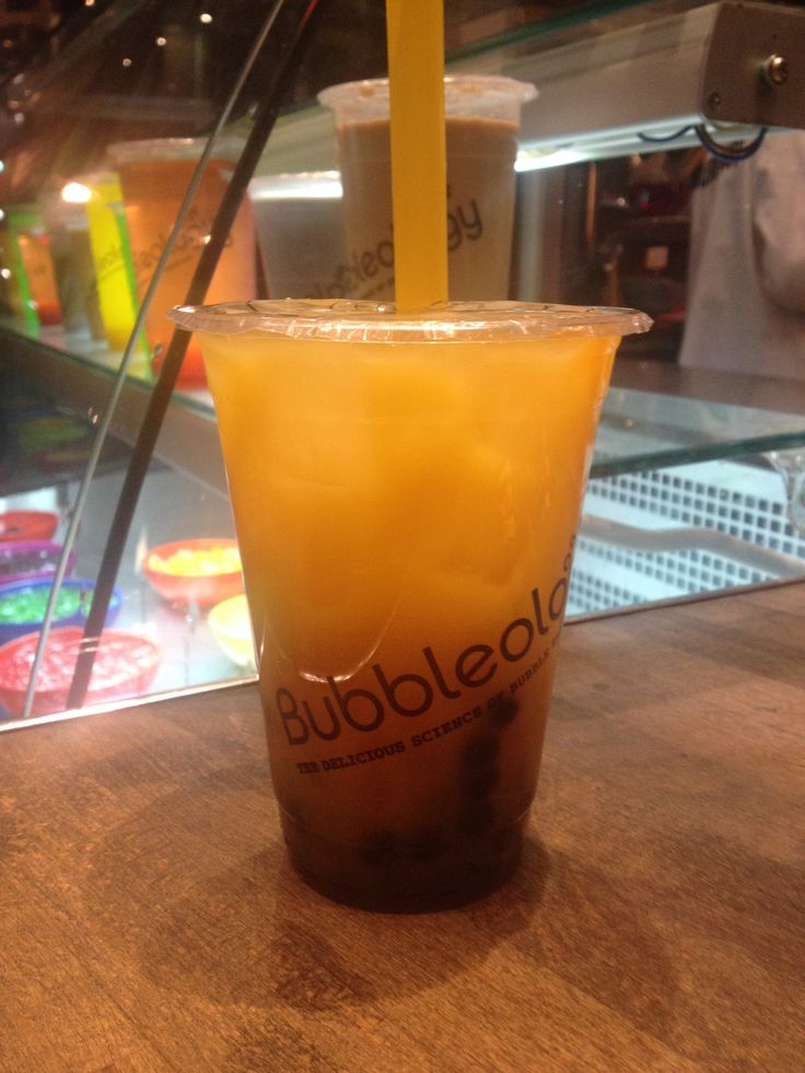 Bubbletea- the new hottest drink around #london #bubbleology #taiwan #mango