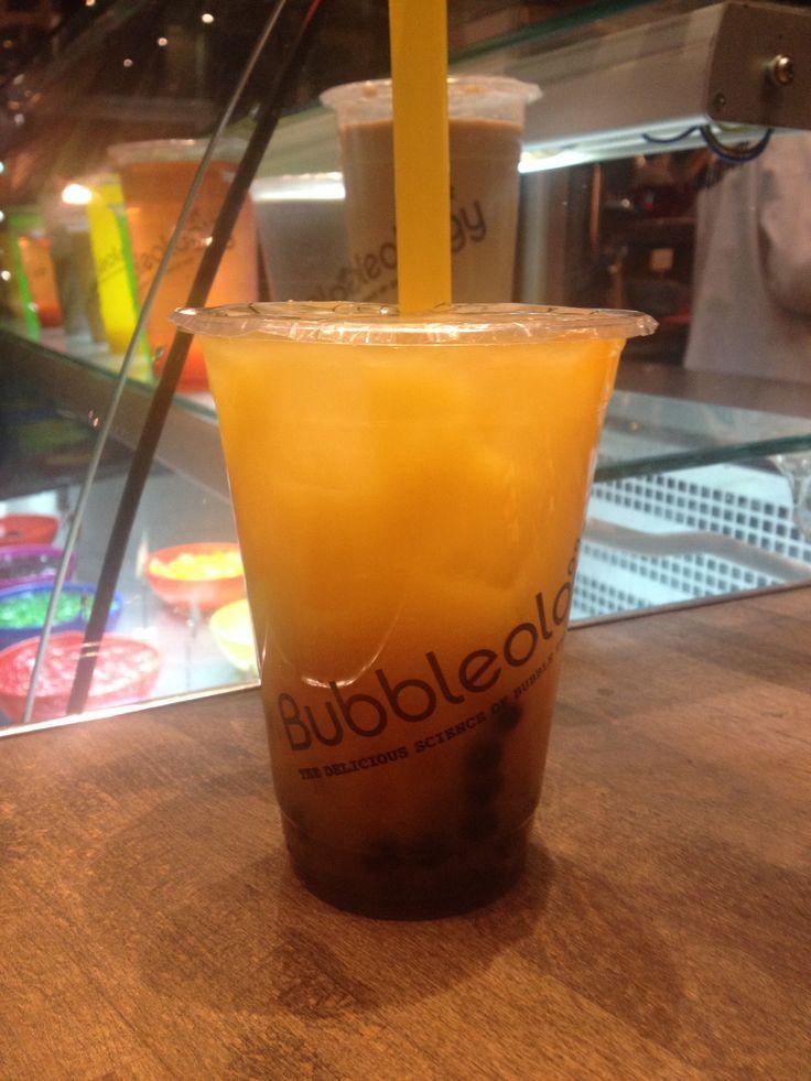 Bubbletea- the new hottest drink around #london #bubbleology #taiwan #mango